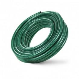 5/8'' PVC Garden Hose, Green Reinforced, 50m