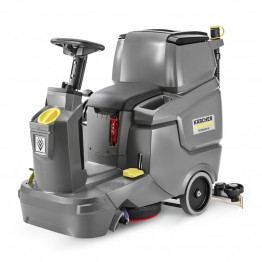Ride-on Scrubber Drier with Disc Brush, BD 50/70 R Classic Bp Pack