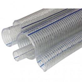 1 1/4'' Transparent Wire Braided Hose,50m