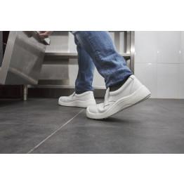 WhitePro Microfiber Safety Shoe, JR-White 39-44