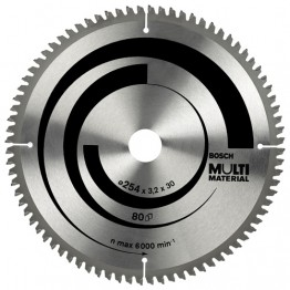 Circular Saw Blade Ecoline Multi Material 254mm, 96 teeth