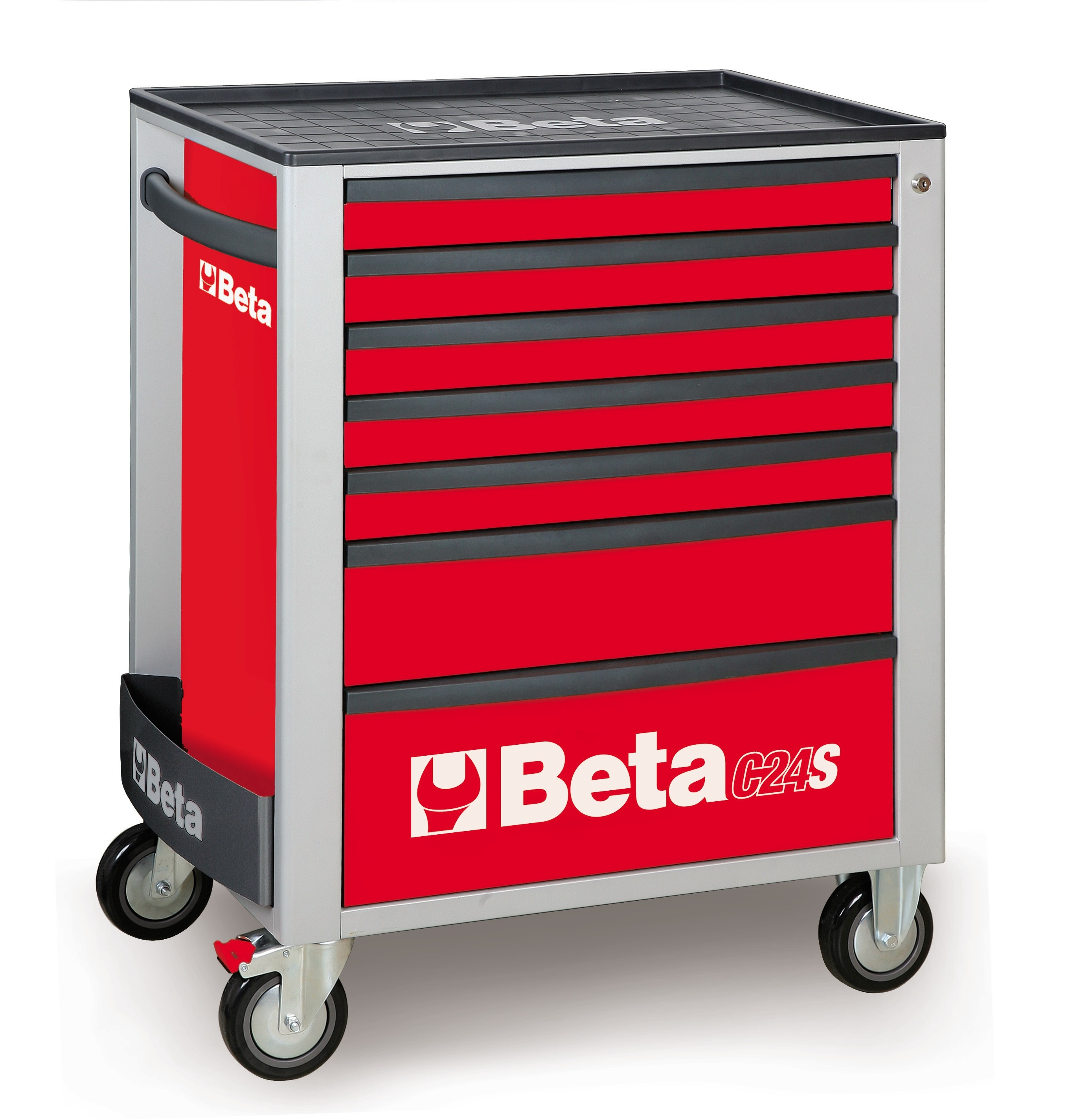 Mobile Tools Roller cab with seven drawers, C24S/7 - 2400S7