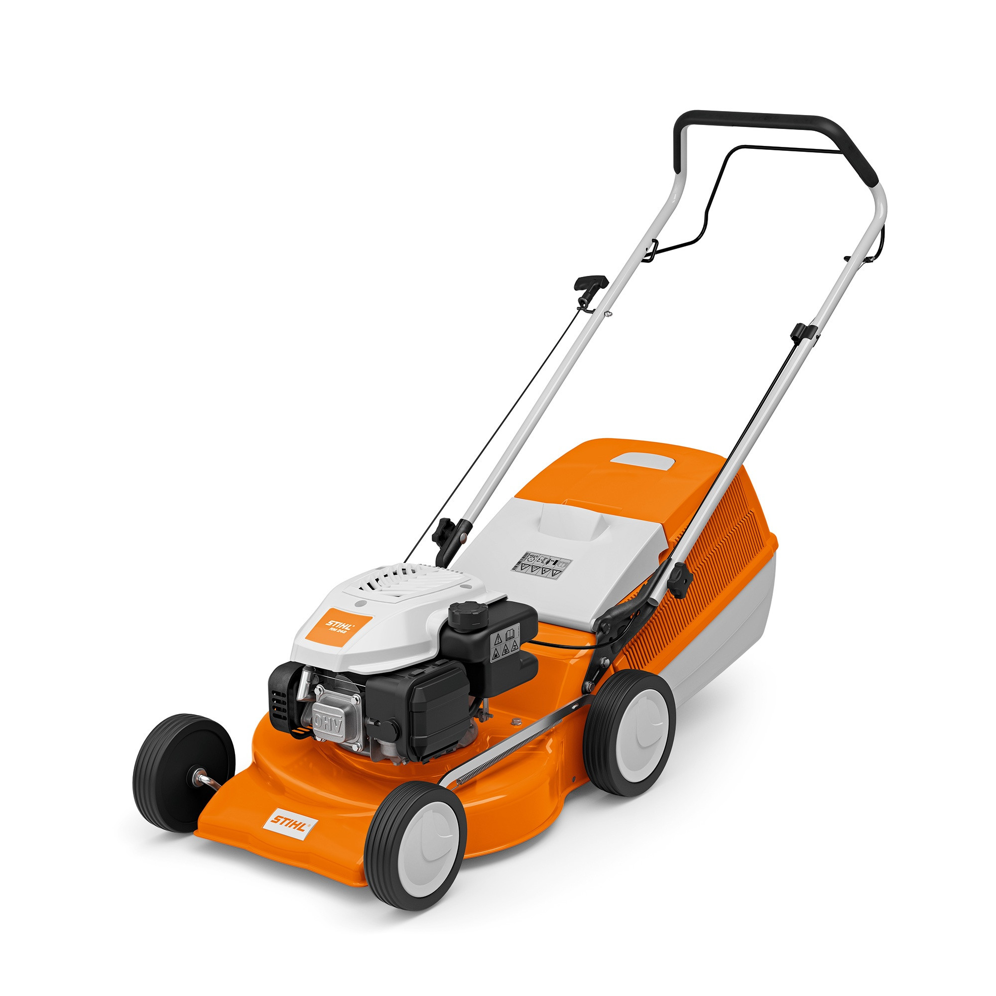 Petrol Lawn Mower, STIHL 63500113420, RM248, 2.8HP, 2900rpm, 46cm cutting width