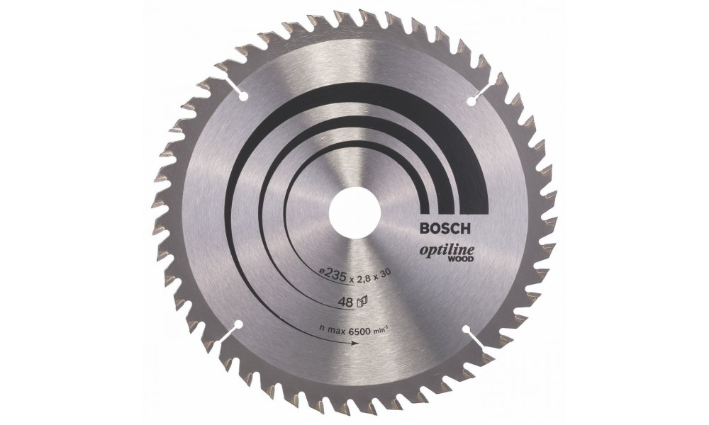Heavy Duty Trucks >> Bosch Circular Saw Blade Optiline Wood 235 X 35/25 X 2,5 mm - Mamtus