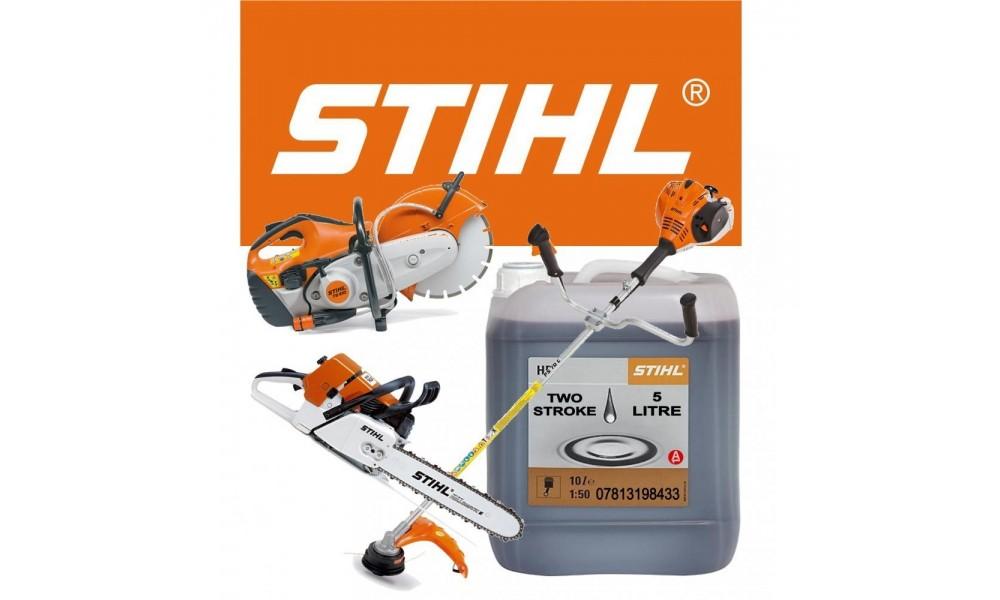 Stihl HP 2 Stroke Oil 5 Litre Bottle Part No 0781 319 8433