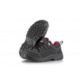 RedPro Leather Safety Shoe, JR-Black 39-46
