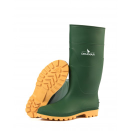 Safety PriceBuster PVC boot, JR-Green/Beige 39-47