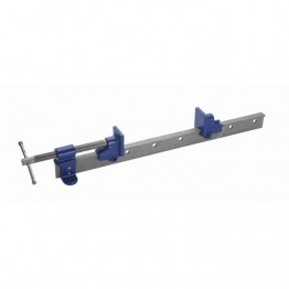 T Bar clamp, Silver/Blue, 66-Inch