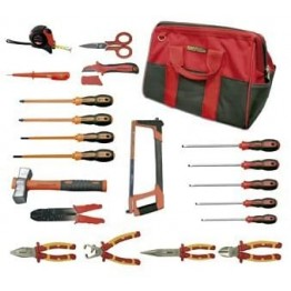 Electrician Kit With 20 Pieces Tools, 69536