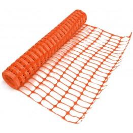 Barrier Net Mesh, Orange, 50 meter roll