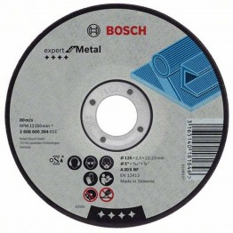Metal Cutting Disc with Depressed Centre 115mm - 25pcs