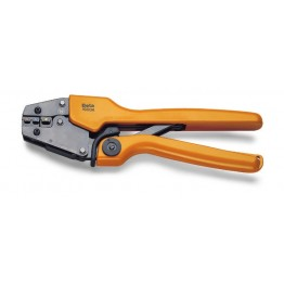 Heavy duty crimping pliers for insulated terminals, 1608A
