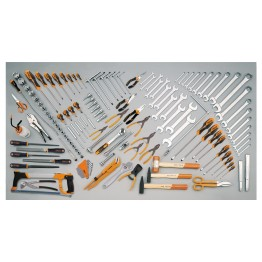 Assortment of 106 tools for agricultural, building and earth-moving machinery, 5902MT
