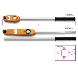 Direct Reading Torque Wrenches for right-hand and left-hand tightening torque accuracy: ±4%, 596 - 598