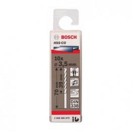 Bosch 2608585879 Drill Bits 3.5mm HSS-CO DIN 338