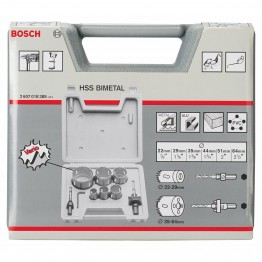 HSS Bi-Metal Hole Saw 9-Piece