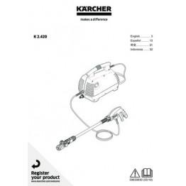 High Pressure Washer,  Air Con - K2.420, 20–100 bar