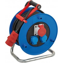 Heavy Duty Cable Reel for site and professional 30m, H07RN-F 5G2,5
