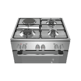 Serie | 2 Freestanding Gas/Electric Cooker Stainless Steel - HGA120F50S