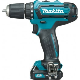 Cordless Drill Driver, 10mm, Keyless, 10.8V, 1 x battery 1.5 Ah, without charger, DF331D