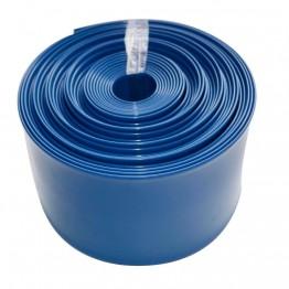 "Water Discharge Layflat Hose Pipe Pump Irrigation Blue  - 51mm (2"") Bore x 100 Metres Long"