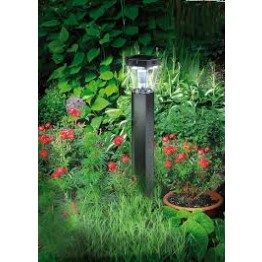 Solar LED Pavement Light SOL FL 13007 IP44 with PIR sensor and twilight sensor 13xLED 91lm Colour Alu/Silver