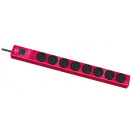 Extension Socket 8 Way Red 3m 05VV-F3G1.25 GB 1150613178