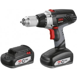 Cordless drill 2712 MA, 2 x 18V, Charger + FREE bag