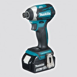 "Cordless impact driver 1/4"", 18V, 1 x battery 1.5Ah and charger"