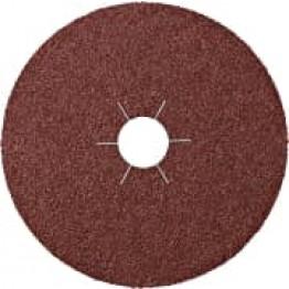 CS 561,Fibre Disc, 180 x 22 mm Grain 80 star shaped hole KL11064