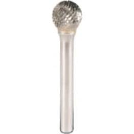 HF 100 D, Ball shaped carbide burr, 12.7 x 56 x  6 x 11 KL295859