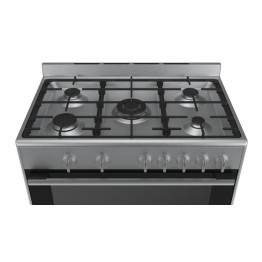 Freestanding 5Gas Cooker 90Ccm HSG734357Z