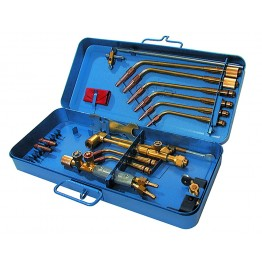 Complete welding and cutting set in metal box Art. 3644-M
