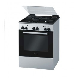 Freestanding Gas Cooker Stainless Steel 60cm