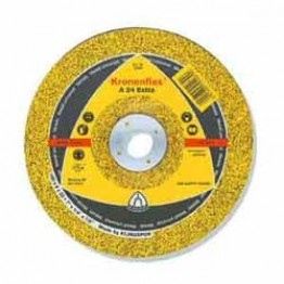 Kronenflex A 24 Extra Grinding wheel , 230 x 22.23 x 6 mm, depressed, for Metal
