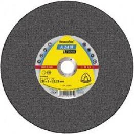 Kronenflex Cutting Off Wheel A 24 N SUPRA, 180 x 22.23 x 3 mm, depressed, for INOX - 1 pc