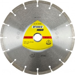 Diamond cutting blades for Concrete, Universal DT 300 U Extra 230 x 22.23 x 1.6mm 16 Segments - 1pc
