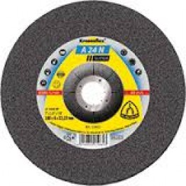 Kronenflex® Grinding Disc A 24 N Supra, 230 x 22.23 x 6mm Depressed for Inox - 1pc