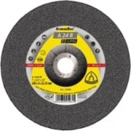 Kronenflex Grinding Wheel for Stainless Steel curved, A 24 R Supra, 230 x 4 x 22.23mm KL13428