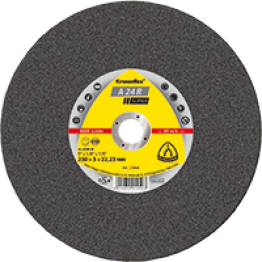 Kronenflex Cutting Wheel A 24 Supra, 115 x 22.3 x 3mm Flat for Steel - 1pc