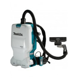 Makita Cordless Back Pack Vacuum Cleaner 36V Li-ion DVC660Z, 6L + Battery and charger - 191A24-4
