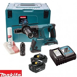 Cordless combination hammer 26mm, SDS +2x18V 3Amps batteries + Quick charger, DHR264