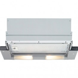 Pull-out DHI635H Silver Metallic Hood, 60cm
