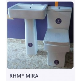 Royal Home Mate Mira Complete Set | Flushwise Close Coupled Back-To-Wall WC - RHM02MWC