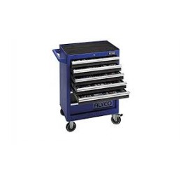 7 drawer mobile trolley without panel, Alyco 192710, 680x460x1000 mm 65 Kg