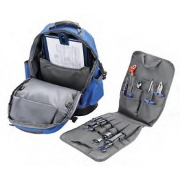 Nylon Tool Backpack Pouch with Interior Panel,  Alyco 198152