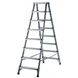 Aluminium Double-Sided Stepladder