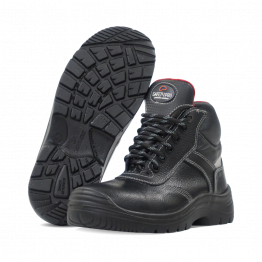 RedPro 3S Leather Safety Boot, Black 40-46