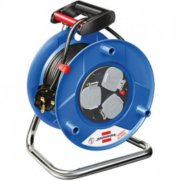 Cable Reel 25m H05VV-F 3G1,5, 3pin, plastic body