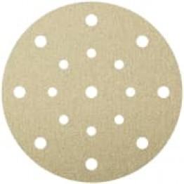 PS 22 K abrasive paper, 150mm, 80grits, hole pattern GLS3, for random orbital sander Flexible Abrasives KL241651